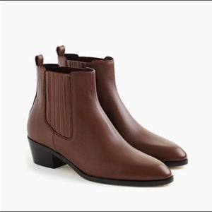 J Crew Brownstone Chelsea Boots – size 10